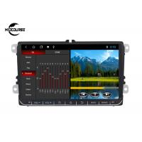 Quality 2 Din Volkswagen DVD Player GPS Navigation Android System 9 Inch Screen 1024*600P for sale