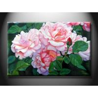Quality Hotel Decorative Landscape Paint Handmade Oil Painting with Flower XSHH103 for sale