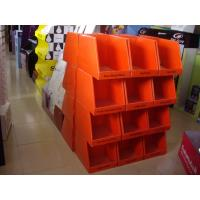 Matte PP lamination POP corrugated Cardboard Pallet Display / exhibition displays