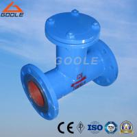 Quality Goole Fabricated Carbon Steel Flanged T Type Strainer for sale