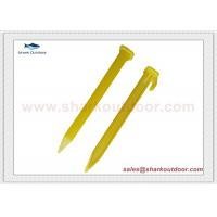 China High quality plastic tent peg stake for beach tent large tent on sale