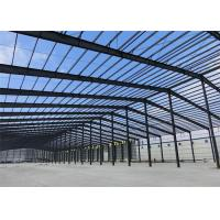 Quality Mouldproof Steel Structure Construction Custom Design With Office / Steel Stairs for sale