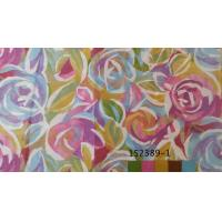 Best Rose Faux Silk Dupioni Heat Transfer Fabric For Curtain / Bedding wholesale