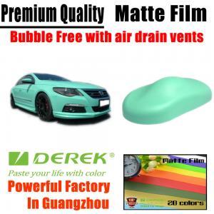 Quality Matte Car Wraps Vinyl Film - Matte Tiffany Blue Car Wrapping Film for sale