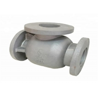Quality OEM 4mm Iron Valve And Pump Body Foundry Moulding for sale