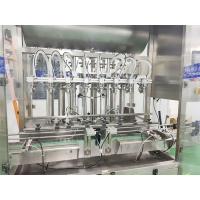 Quality 2.5KW 6 Heads 5000ml Hand Sanitizer Filling Machine for sale