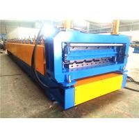 Quality Metal Roofing Roll Forming Machine , Automatic Double Deck Roll Forming Machines for sale