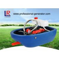 Quality 1.2kw boat shape agricultural water pump for irrigation powered by 142F Gasoline Enigne for sale
