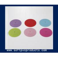 Quality Custom Soft PVC 3D Rubber Coaster for Beer and Drink , PVC Business Promotional Products for sale