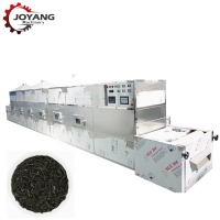 China Microwave Green Black Tea Herbs Fixing Drying Machine for sale