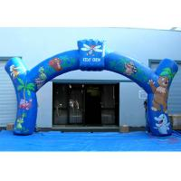 Best 0.4mm PVC Tarpaulin Advertising Inflatable Arch Nice Animal Printing  For Promotion wholesale