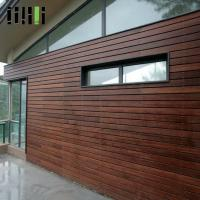 Quality Deco Home Timber Bamboo Wall Cladding Fire Resistance Easy Installation for sale