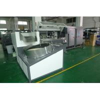 China Plastic Container Automatic Screen Printing Machine 4000Pcs / Hr With Unscramble on sale
