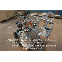 Quality Price Of a Milking Machine For Goat , Goat Milking Machine With 25 Liter Buckets for sale