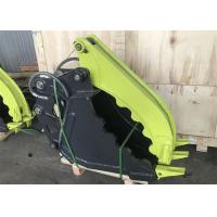 Buy cheap Abrasion Resistant Excavator Grapple Bucket / Hydraulic Excavator Grapple from wholesalers