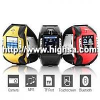 China F3 Sports - 1.33 Inch Watch Cell Phone (Tri-Band Bluetooth MP3 Mp4 Player) on sale
