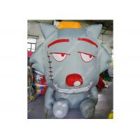 Best Promotion Inflatable Cartoon Characters Wolf , Blow Up Model For Kids wholesale