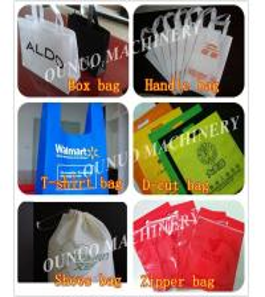 High Output Handbag Making Machine Non Woven Carry Bag Making Machine 12 Sets Ultrasonic