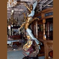 Quality Life Size Art Sculpture Bronze Casting Male And Female Ballet Dancer Statue for sale
