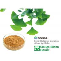 Quality 100% Natural Pure Ginkgo Extract Ethanol Solvent Extraction, ISO9000 ISO14000 Certificated for sale