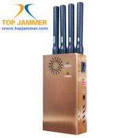 Quality 4 Stout Ant. GSM 3G Wifi GPS Cellphone Jammer Blocker,Golden/Fan/DIP/Leather Case/Car Char for sale