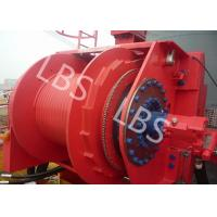 Quality Grey Colour Anchor Windlass Winch Smooth Durm For Pulling / Pushing for sale