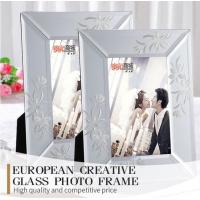 Quality Elegant Rectangular Bulk Glass Mirror Photo Frame Perfect For Any Occasion for sale