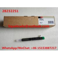 Buy DELPHI INJECTOR 28232251 Common rail injector 28232251 , 166001137R ,166001137 at wholesale prices