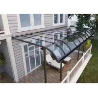 Buy cheap Sun Rain Shades Aluminum Canopy Awnings Waterproof With Long Life Time from wholesalers