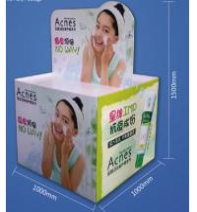 Best Foaming cleanser Promotion Super Market Cardboard Pallet Display wholesale