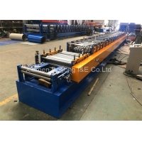 Quality Steel Roller Shutter Door Rail Roll Forming Machine 1.5mm Thickness for sale