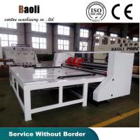 Quality Corrugated cardboard semi-auto slotting machine/carton box making machine for sale