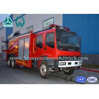 Electronic System High Pressure Fire Extinguisher Truck With Fume Remove device