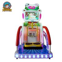 Quality Kids Lottery Ticket Redemption Machine Happy Jump Racing Type Custom Logo for sale