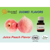 Water Based Pulp Feel Juice Peach Extract Flavoring Liquid For Beverage for sale