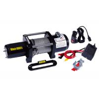 China Waterproof Electric ATV Winch 8000lb With Wheels Lubricated , Portable 12v Winch on sale