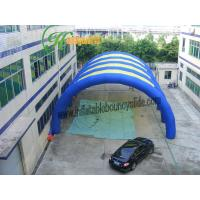 China Promotional garage air inflatable tent Commercial Grade 0.45mm 1000D on sale