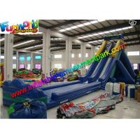 Quality CE / UL Double Lanes Giant Inflatable Slide Commercial Grade for sale