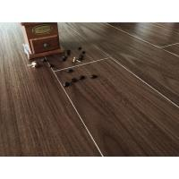 Crystal Surface Brown Bamboo Floor Tiles Wear Resistant For House Decoration