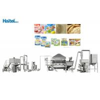 Quality Industrial Baby Food Processing Equipment Working Steam Pressure 0.8mpa for sale