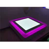 Buy cheap surface mounted double color round square LED panel light for club lighting from wholesalers