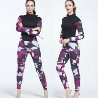 China In Stock Professional 3mm Outdoor Surfing High Pressure Resistant Neoprene Women Diving Suit on sale