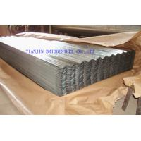 Quality Zinc Coated Galvanized Corrugated Steel Sheet For Roofing , 0.14mm – 1.2mm Thickness for sale