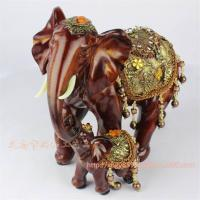 Buy cheap Environmental Resin Elephant Decoration Resin Elephant Craft Resin Thailand Elephant Figure (XH373) from wholesalers