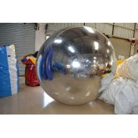 Quality Delicate PVC Inflatable Mirror Ball Advertising Air Balloons For Party for sale