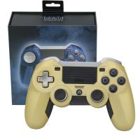 Quality Elite Ps4 Wireless JoystickNon - Slip Surface Gold Color USB Cable Game Accessories for sale
