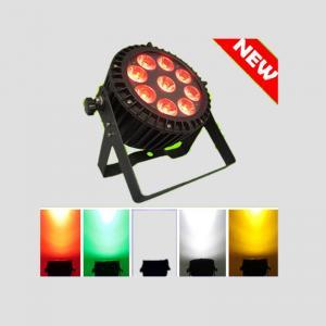 Quality stage Par Lights 9pcsX 15w RGBWA 5IN1 Waterproof Par dmx controller par64 for building hot for sale