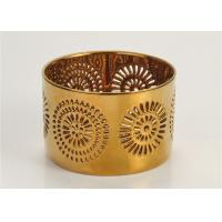 Quality Environmental Home Interiors Candle Holders Ceramic For Decorated for sale
