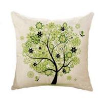 Quality OEM Accepted Soft Sofa Chair Cushion Customized Printed Woven Technics for sale