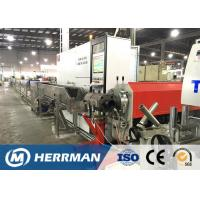 Quality High Efficiency Cable Extrusion Line Power Cable Sheathing Machine 120mpm Max Speed for sale